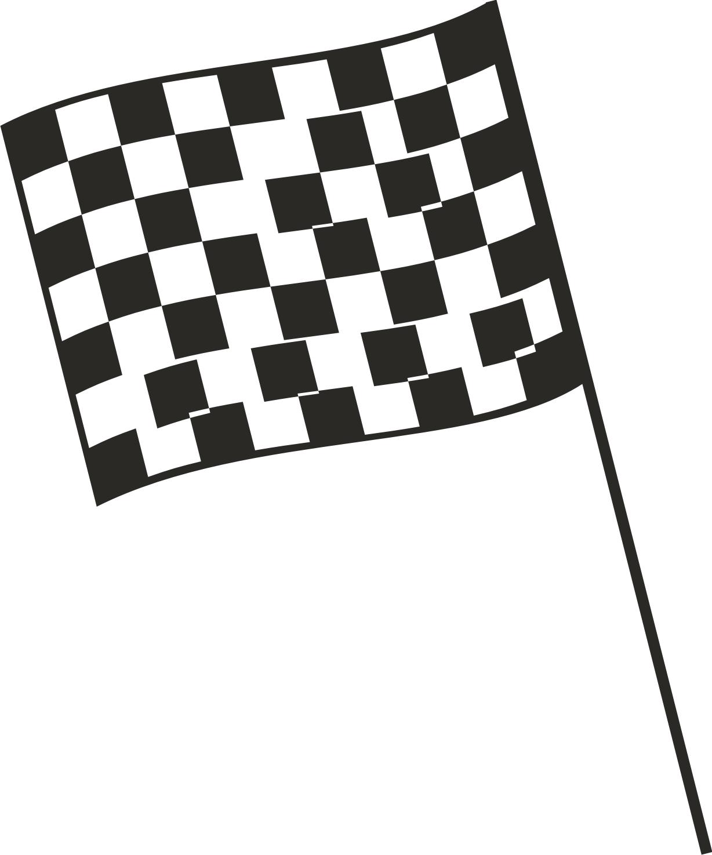 Checkered Flag Nascar Borders