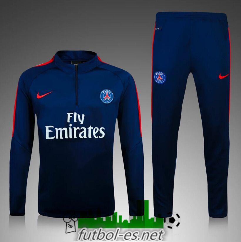 carencia Suradam vehículo  tiendas Chandal de futbol Ninos PSG Azul marino 2016 2017 | Sport outfits,  Football shirts, Athletic jacket
