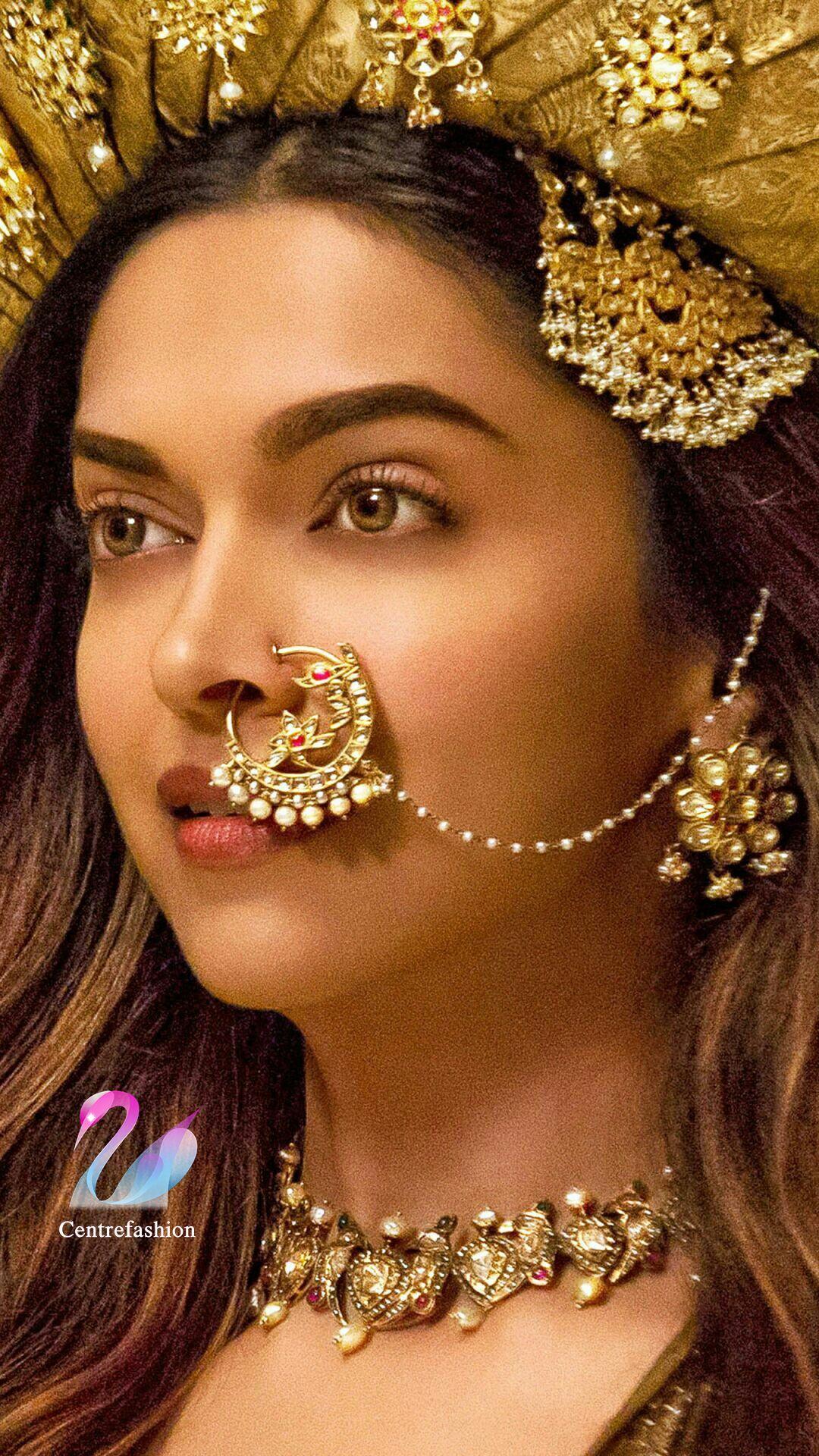 Deepika Padukone Trending Wedding Jewellery Nose Ring Bridal Nose Ring Dipika Padukone