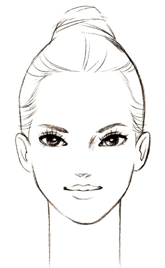 Pin By D Mamekoma On Illustration Reference Fashion Illustration Sketches Face Female Face Drawing Fashion Illustration Sketches