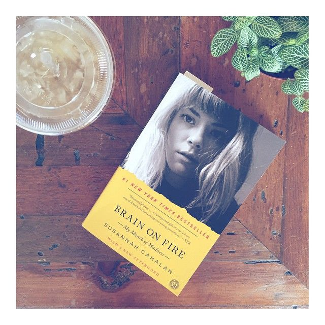 Weekend treats: iced jasmine and a new read. Anyone read #BrainOnFire? This young woman's brave story is equal parts terrifying and inspiring.