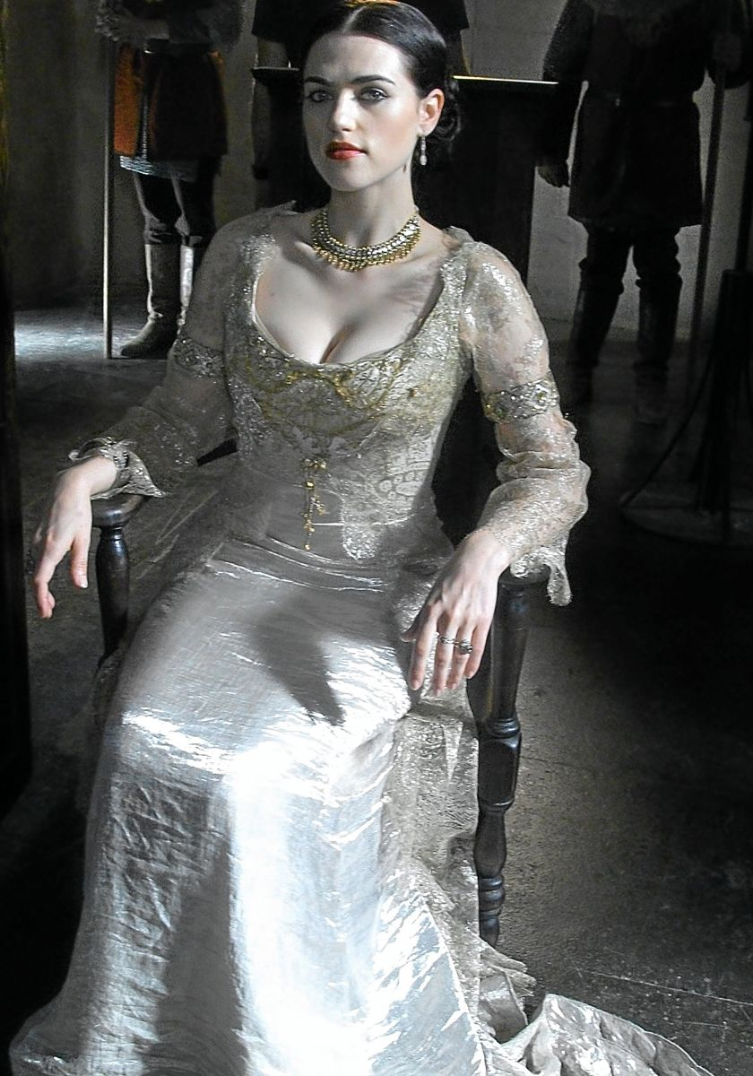 Katie McGrath as Lady Morgana Pendragon from BBC\'s hit TV series The ...