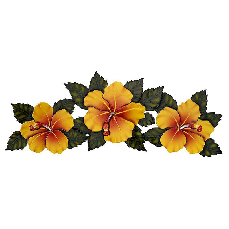 Hibiscus Flowers Yellow Pool Mosaic Tattoos Hibiscus Hibiscus