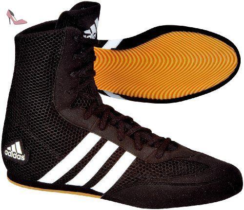adidas 116373 Chaussures de boxe anglaise NoirBlanc FR : 40