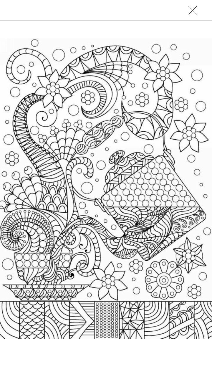 tea coffee coloring page coffee tea coloring pages for adults