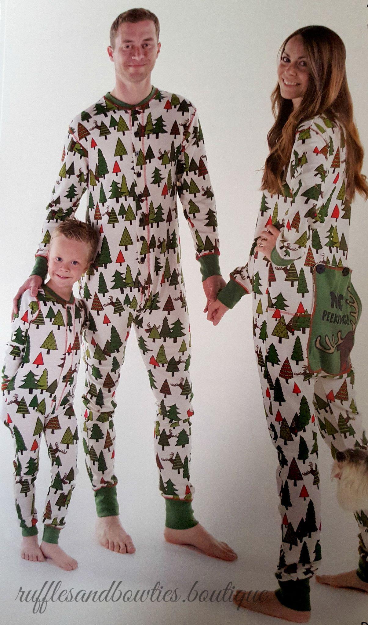 pre order new this season no peeking family matching flapjack christmas pjs