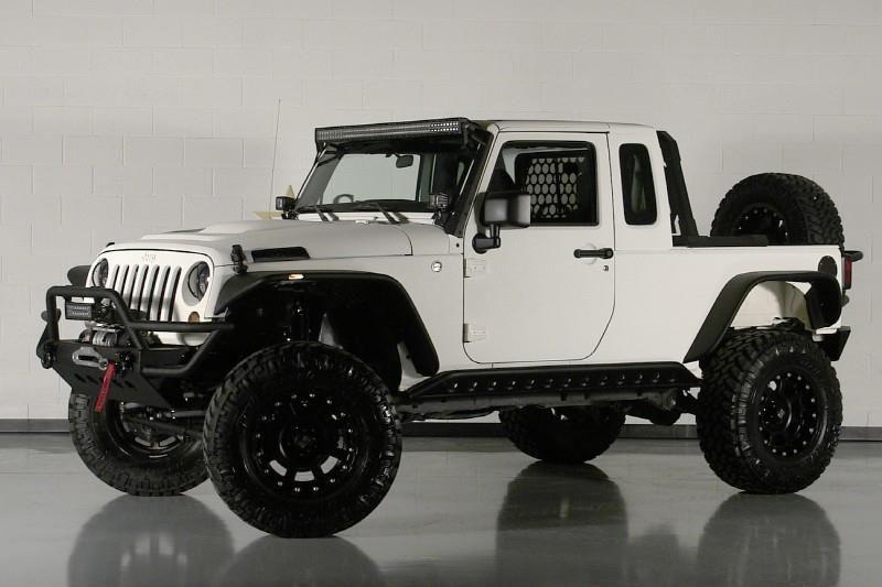 White Kevlar Jeep Jeep Jeep Brute Jeep Wrangler Jk