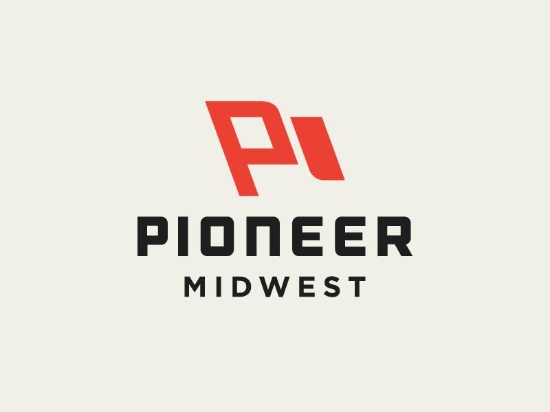 Pioneer 01 Letter Logo Design Pioneer Logo Pioneer