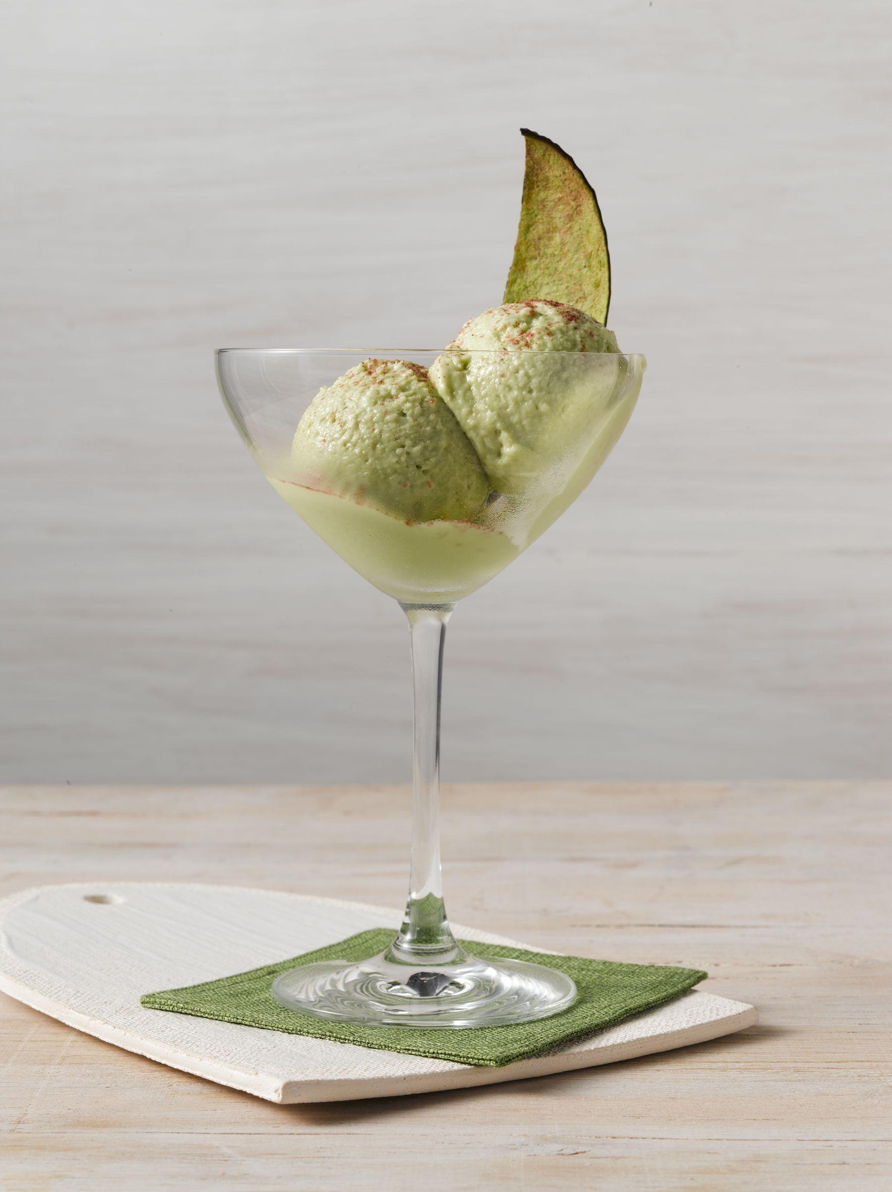 Avocado Rum Ice Cream Cocktail, courtesy of the Liquid Chef!