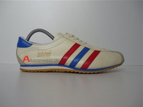 55a0bd55653d UNWORN 70`S VINTAGE ADIDAS ANTELOPE SAMPLE RETRO SPORT SHOES 80`S INDOOR  ROM