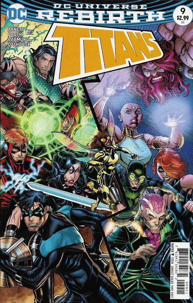 1st Print Titans # 4 DC Universe Rebirth