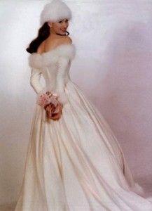 Velvet Winter Wedding Dresses