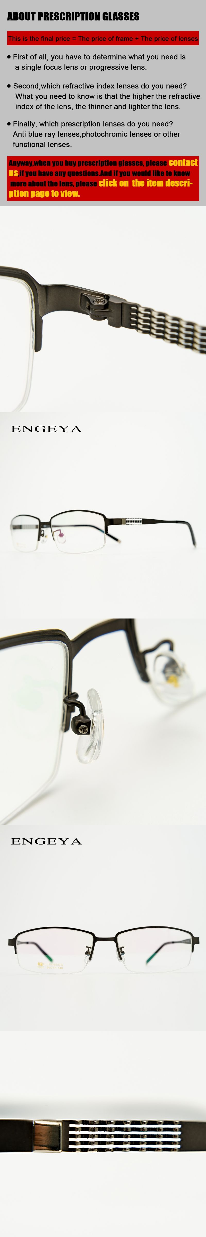 d71422405deb Metal Prescription Eyewear Men Square Optical Reading Nerd Spectacles  Bifocal Blue Ray Glasses Wave Design