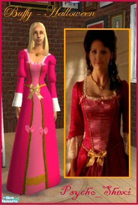 I WILL be sewing my own dress to look like Buffy in the season 2 Halloween episode.