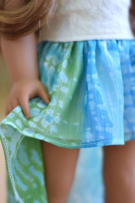 High Low Skirt American girl doll von EliteDollWorld auf Etsy