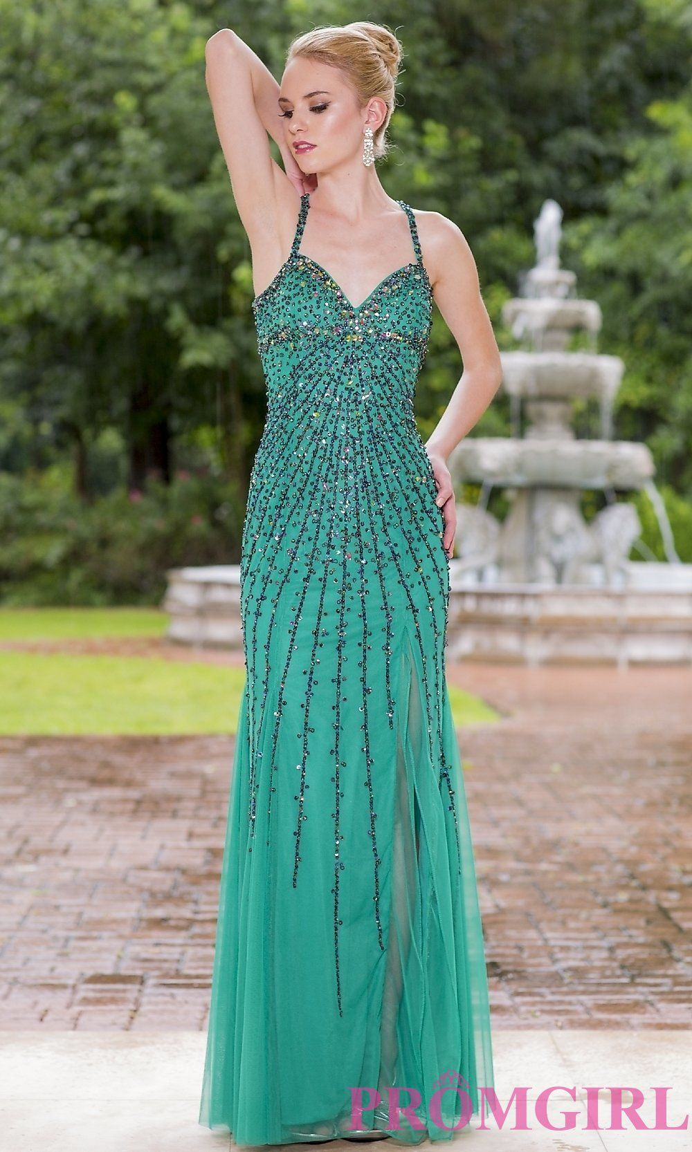 Long Sequin Sweetheart Prom Dress by Sean Collection | Prom Perfect ...