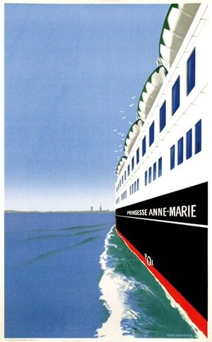 """""""Prinsesse Anne-Marie"""", 1960"""
