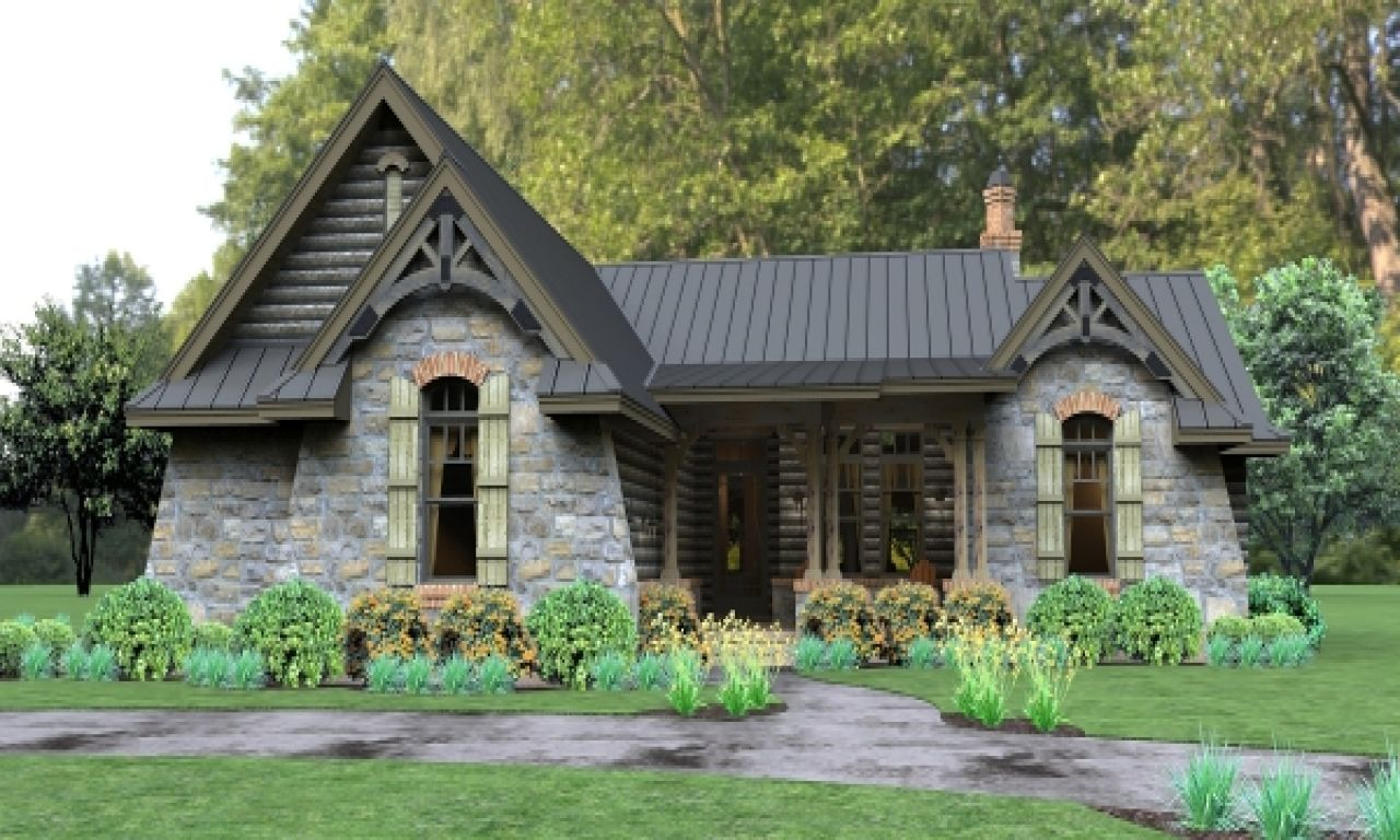 10 Inspiring And Cozy Cottage House Plans Rustic House Plans Craftsman Style House Plans Cottage House Plans