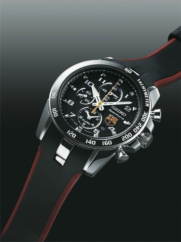 Catálogo de relojes Seiko  Reloj Seiko Sportura versión del FC Barcelona  SSNAE93P1 e5eecfc2a3f