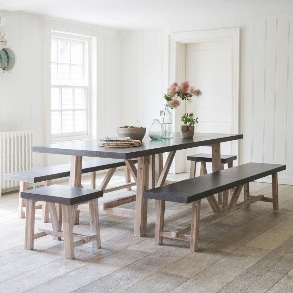 Arden Table and Bench Set & Arden Table And Bench Set | Bench set Bench and Acacia wood