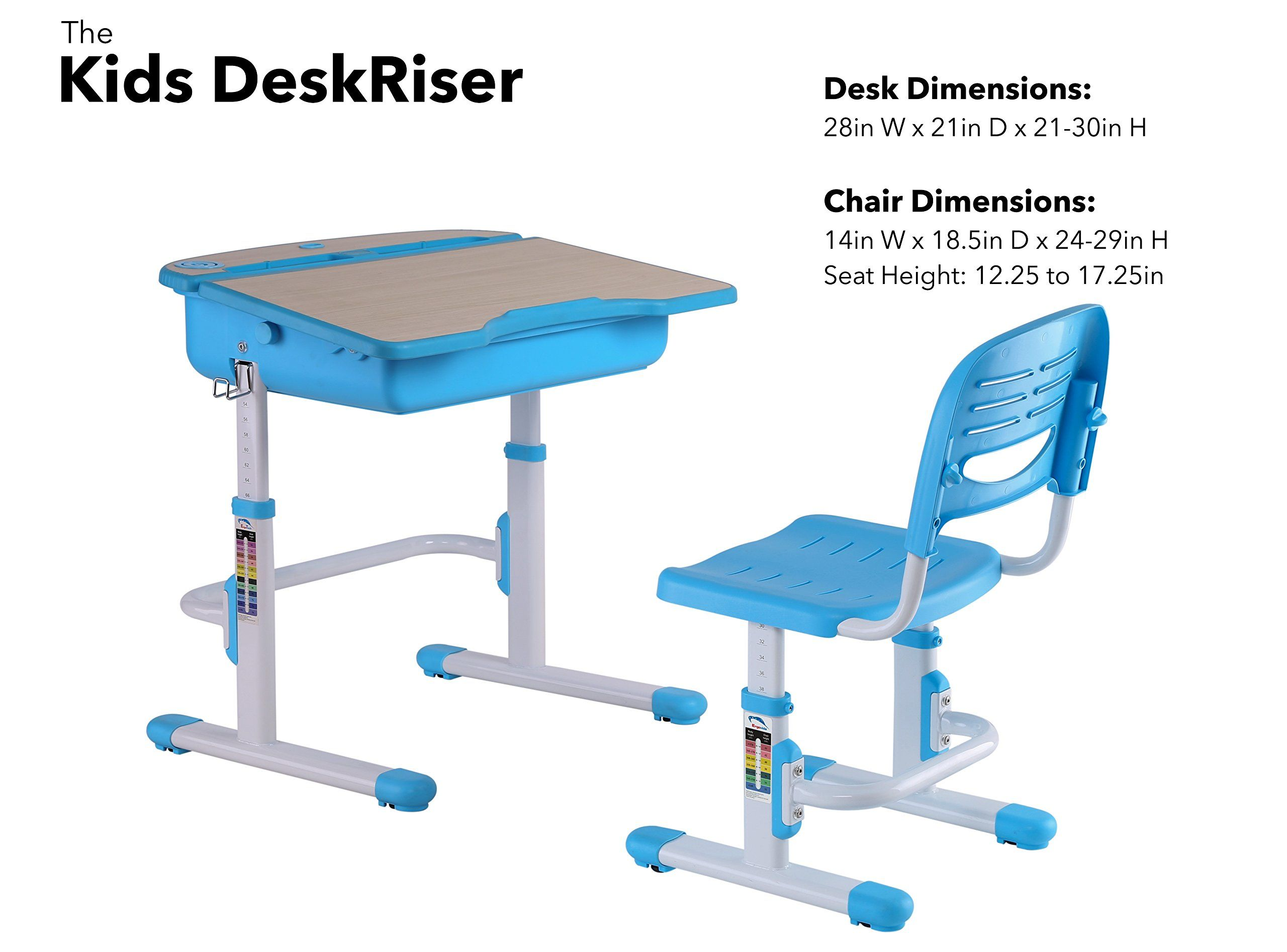 Brilliant The House Of Trade Adjustable Height Student School Desk And Cjindustries Chair Design For Home Cjindustriesco