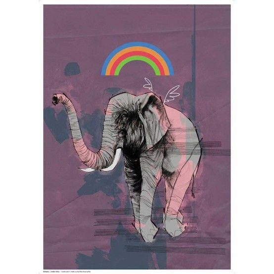 Poster Elefante   Posters&Quadros&Molduras   Pinterest   Elefantes