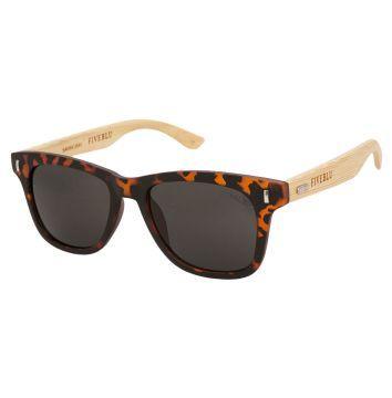 3ff09c9bb2f60 Oculos Solares FiveBlu Madeira Preto   Óculos