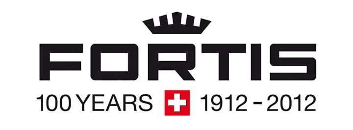 Fortis Swiss Watch Logo 100th aniv