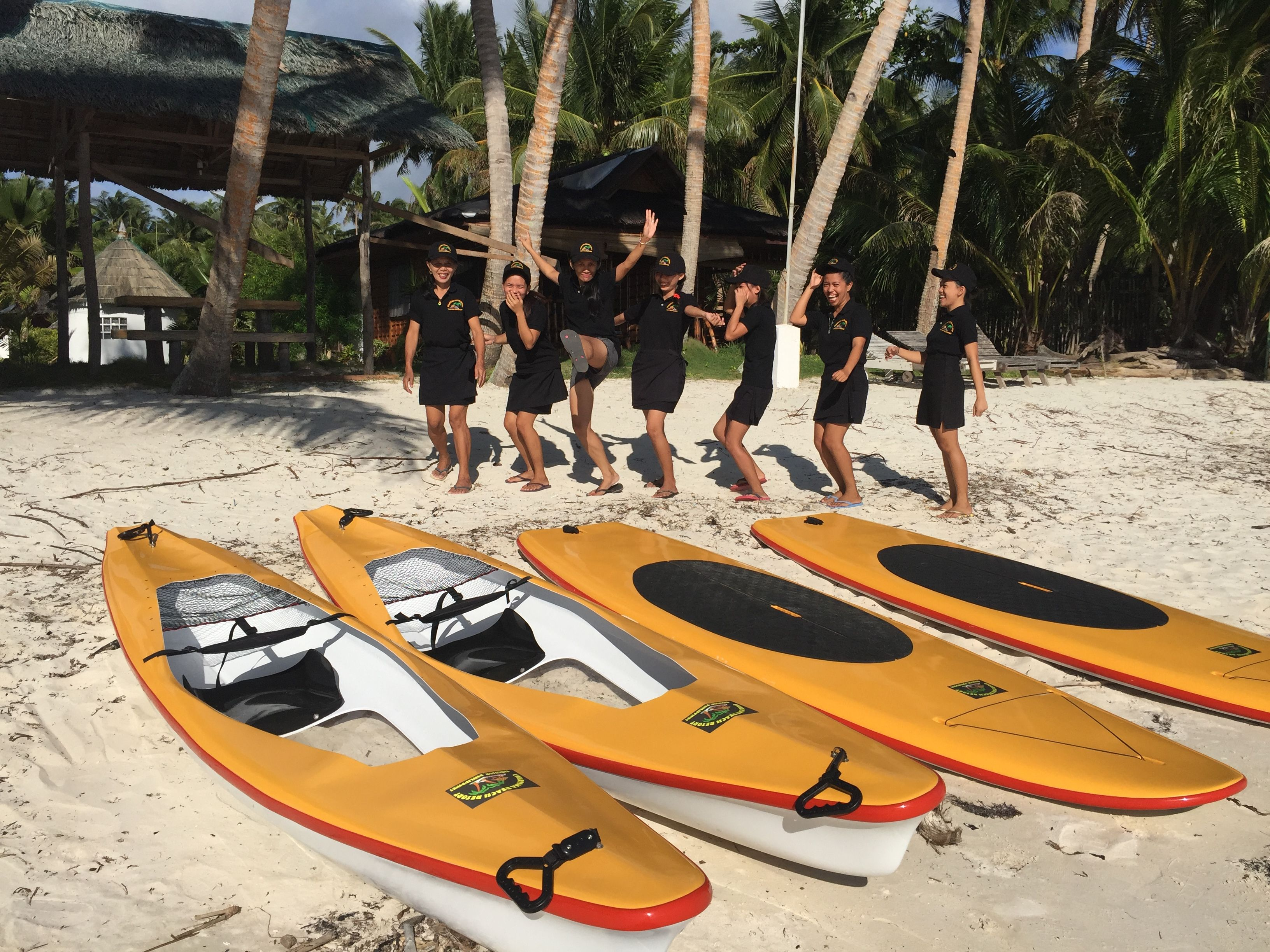 Stand up paddle board ornament - Kayak And Stand Up Paddle Board At Charisma Beach Resort Siquijor Island