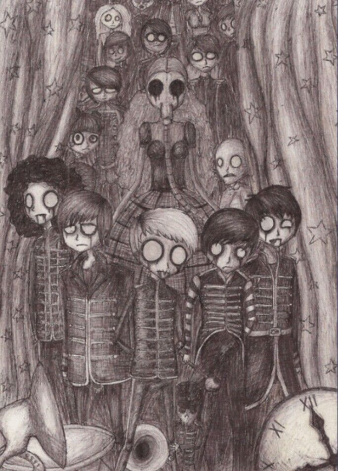 Welcome To The Black Parade My Chemical Romance Fan Art My Chemical Romance Fan Art Emo Band Memes