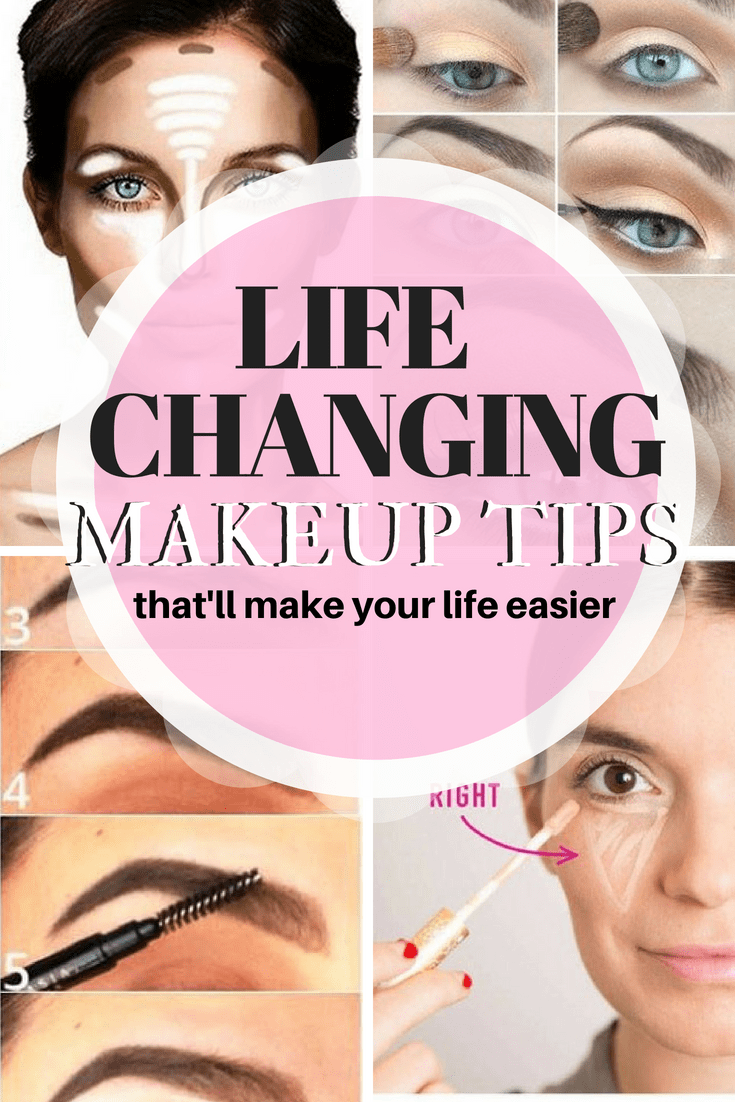 15 LifeChanging Makeup Tips To Make Your Life Much Easier