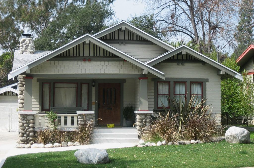 Craftsman And Bungalow Style Homes Rustic Houses Exterior