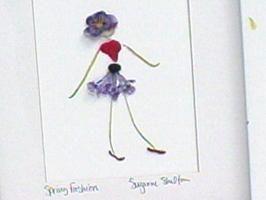 gepresste Blumen Menschen in Rahmen lieben es  The post Bastelideen appeared fir…