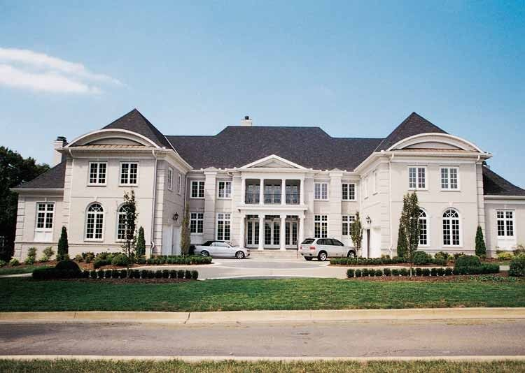 Eplans Neoclassical House Plan Gorgeous Estate Home 6970 Square Feet And 5 Bedrooms S From Eplans Hous Mansion Floor Plan House Plans Luxury House Plans