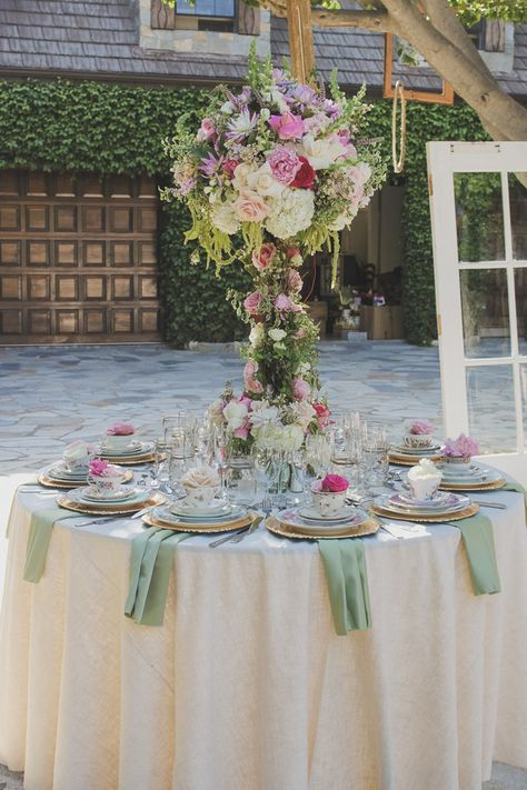Trendy wedding themes spring enchanted forest centerpieces ...