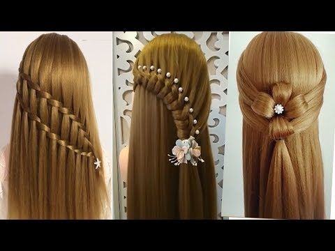 Youtube Cabello Largo Bonito Peinados Poco Cabello Peinados Para Cabello Largo