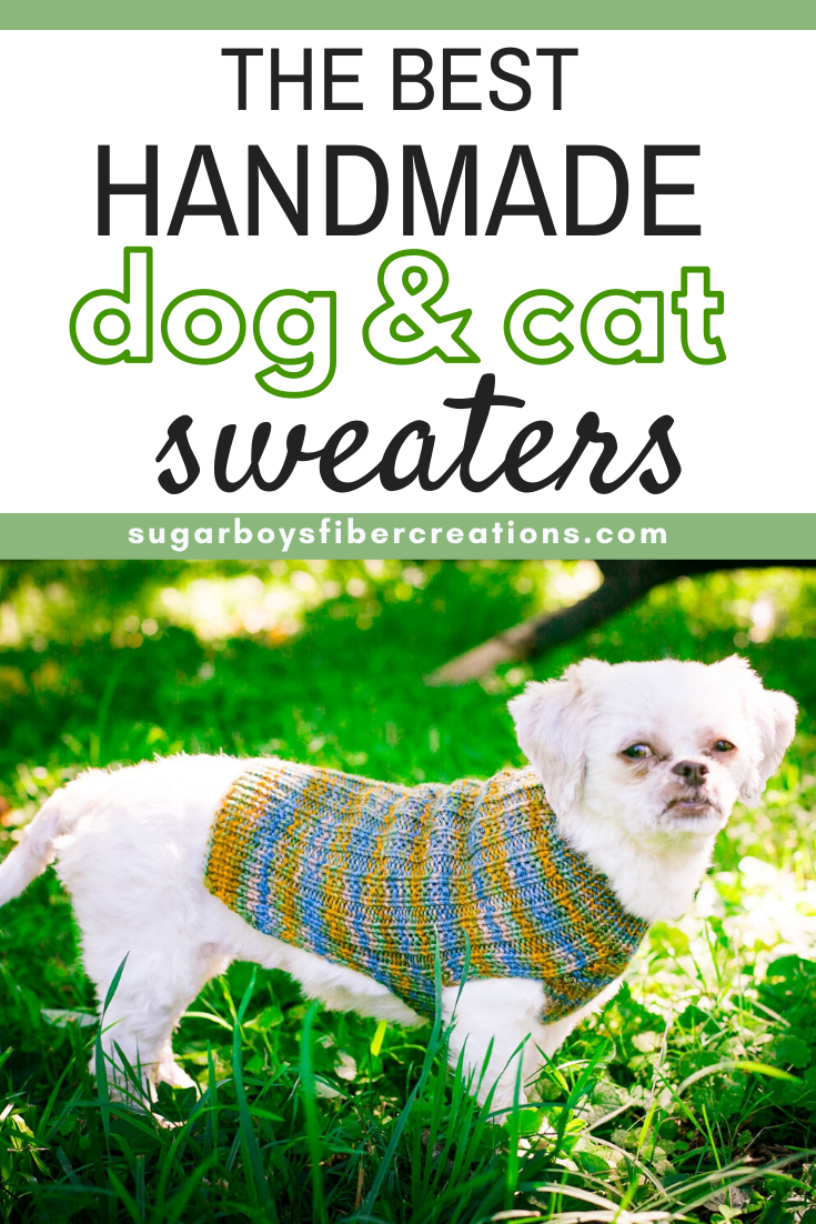 Our Custom Pet Sweaters Are Handmade Pet Sweaters Incorporating Classic And Prized Design To Remind You Of Warmth And Nat In 2020 With Images Pet Sweaters Handmade Pet Pet Sweater