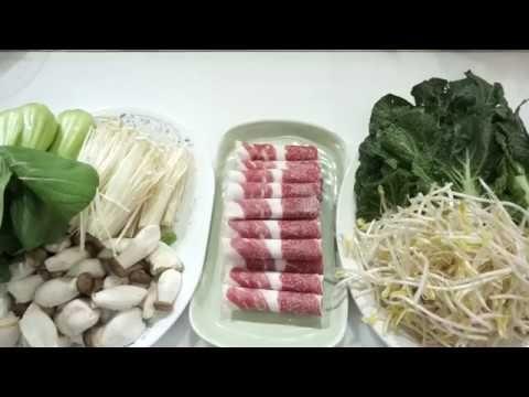 #샤브샤브 #샤브샤브죽 집에서 쉽게 만드는 외식요리/손님초대/큰돈들이지않는요리/쉬운요리[상어이모.SANGEOIMO] - YouTube