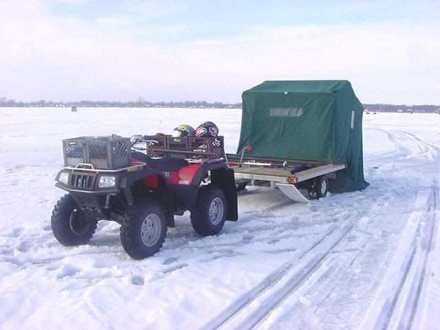 Your ice fishing invention improvements for Atv ice fishing accessories