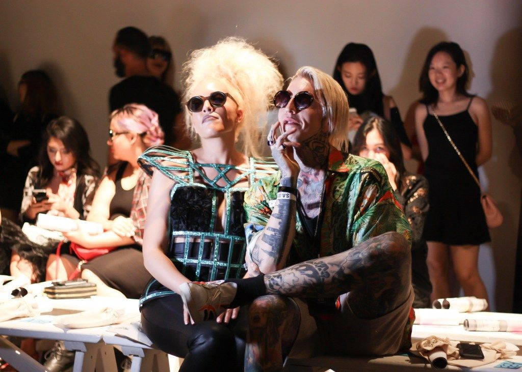 NYFW Vivienne Hu stylish show attendees
