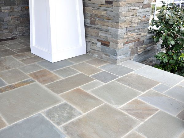Bluestone Random Pattern Pavers Porch Tile Patio Tiles
