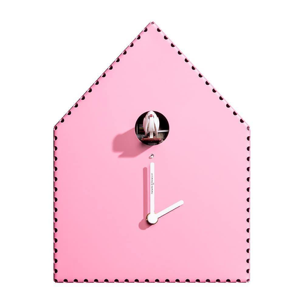 Puntinipuntini Wall Clock Pink Cuckoo Wall Clock Designed By Arianna Subri Amaraliving Classic Wall Clock Design Clock Design Best Wall Clocks