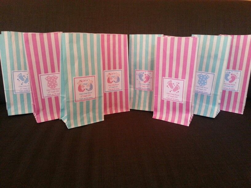 Personalised baby shower favour gift bags my ebay items personalised baby shower favour gift bags negle Gallery