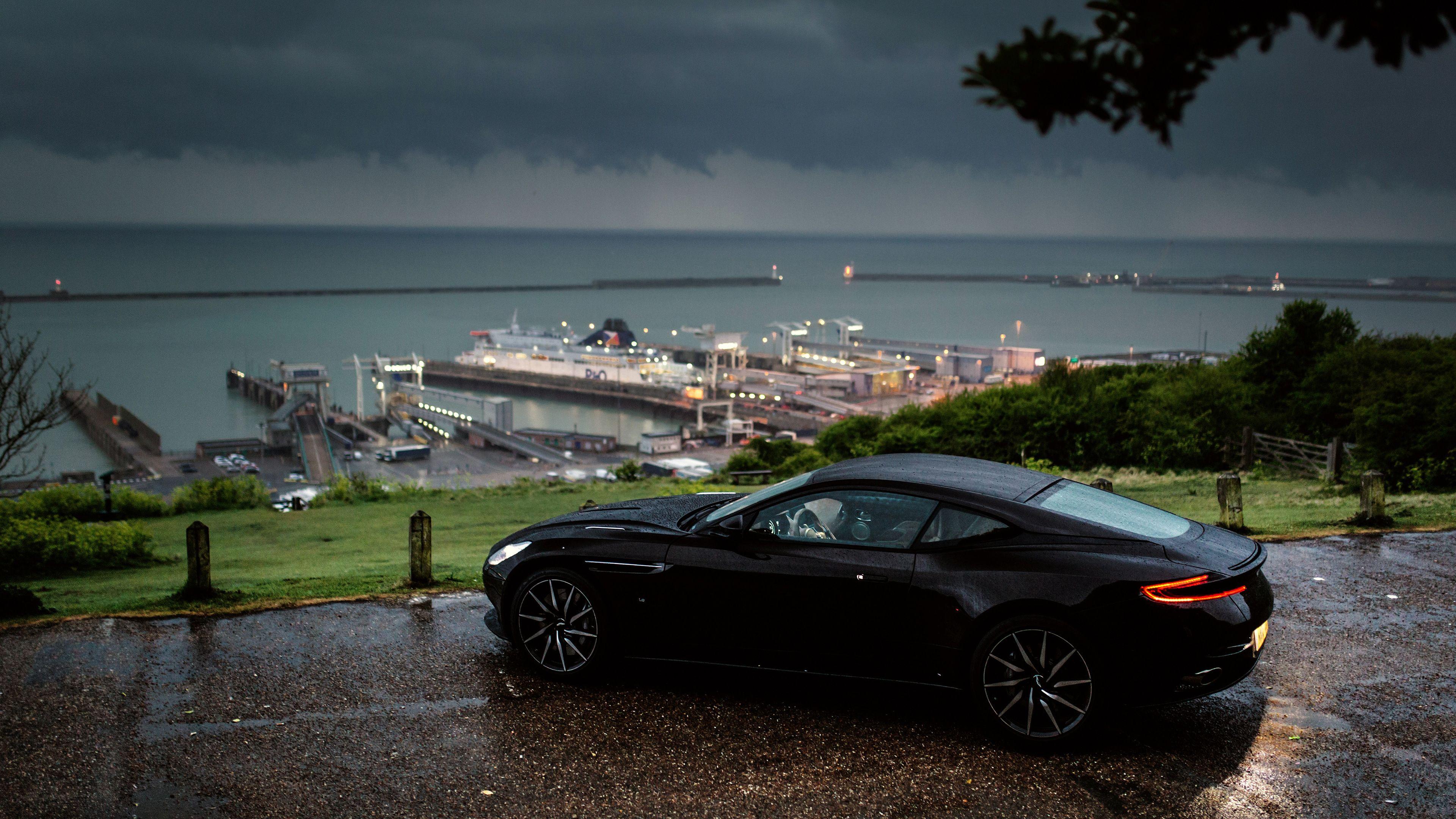 Aston Martin Db11 Rain Outside In Nature Rain Wallpapers Hd