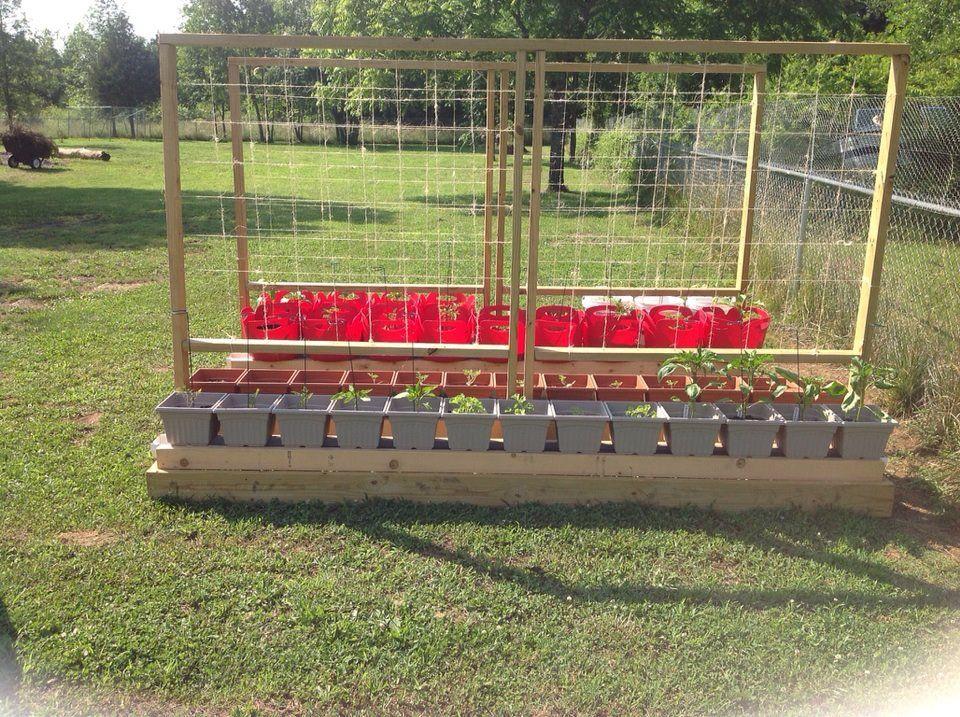 Self watering rain gutter garden pinterest gardens hydroponic gardening and gutter garden - Hydroponic container gardening ...