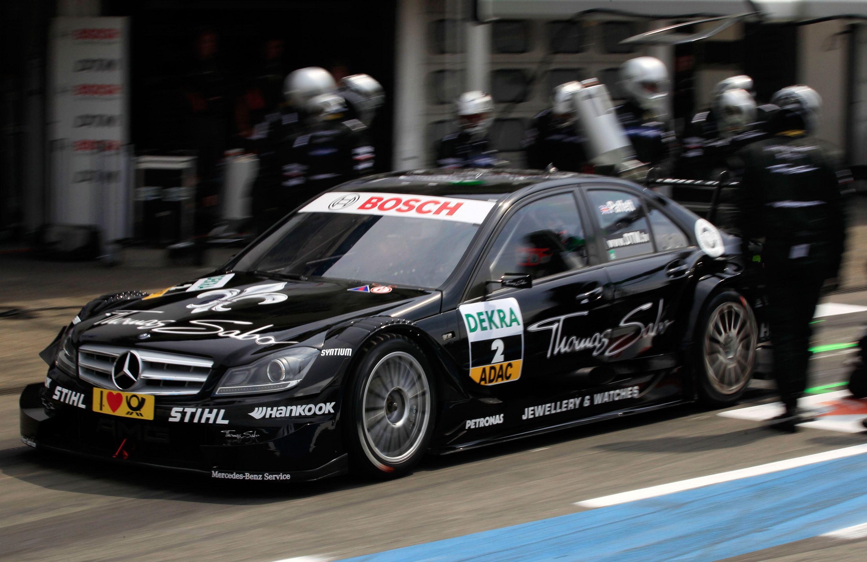 2011 DTM season MercedesBenz Bank AMG CClass Picture