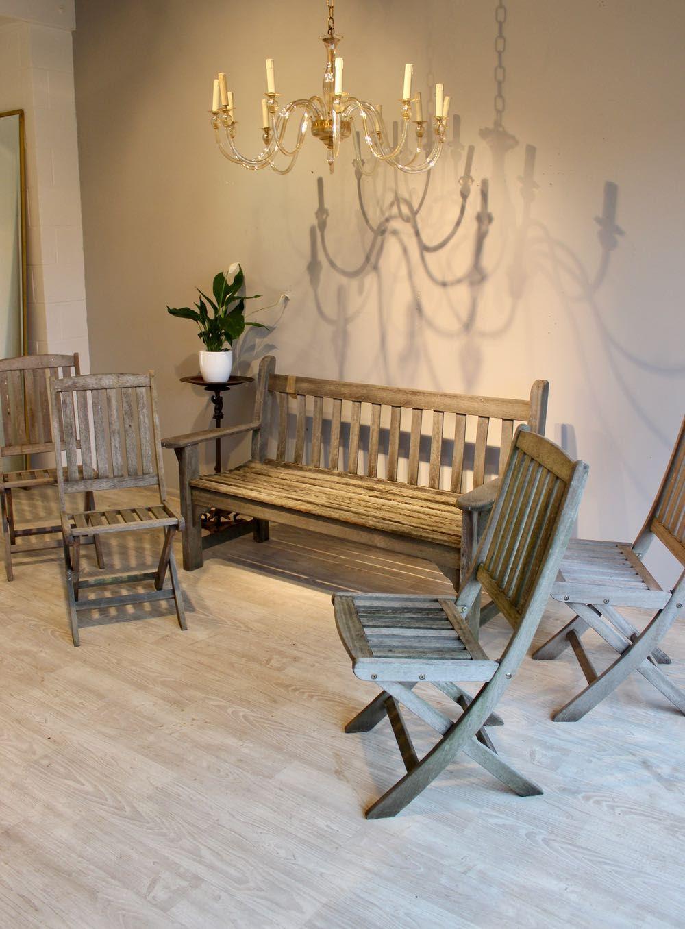 Folding garden chairs garden seating architectural salvage garden furniture norfolk outdoor