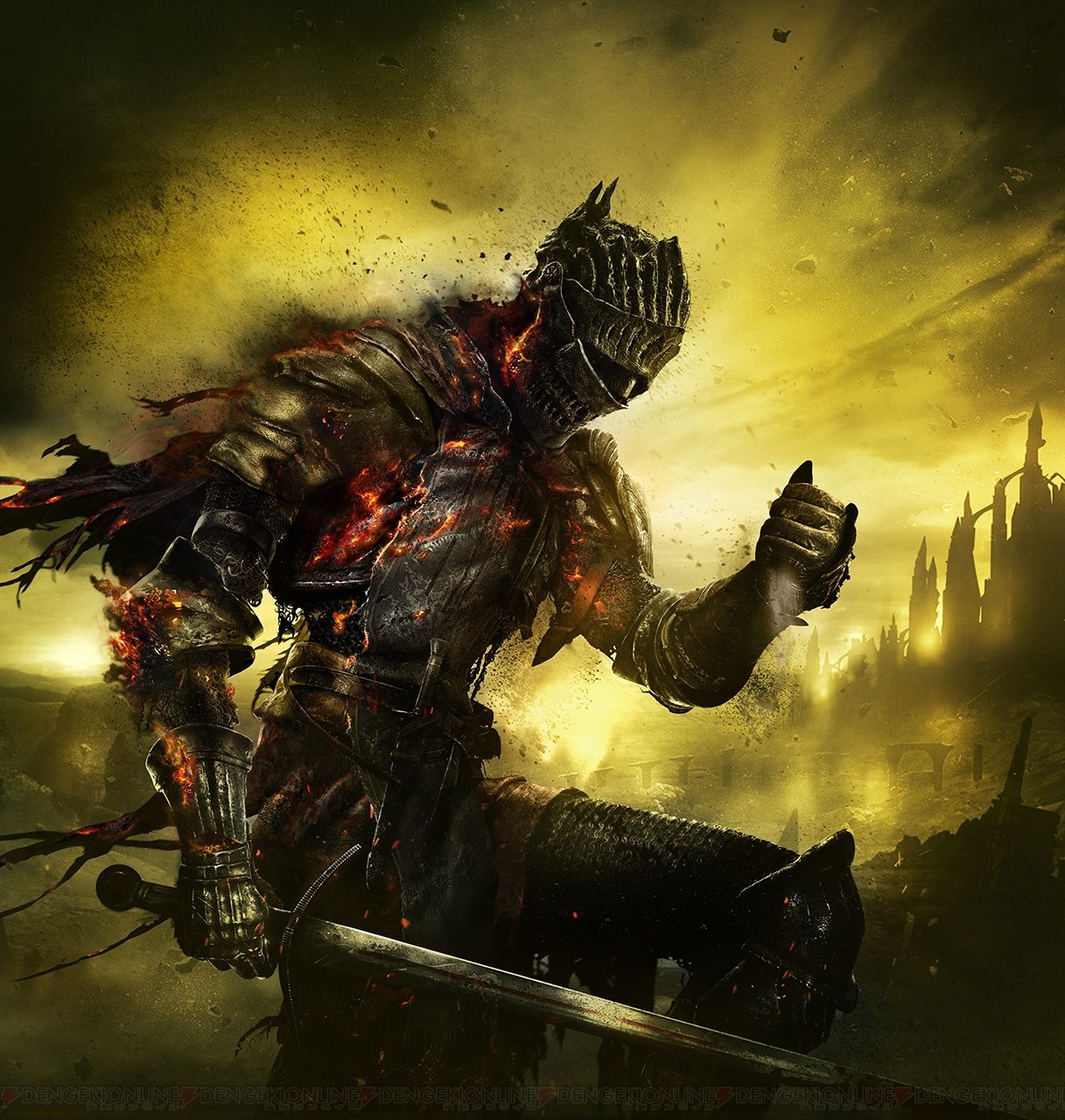 Dark Souls 3 Cover Art | Darkborne | Pinterest | Dark souls, Artwork ...