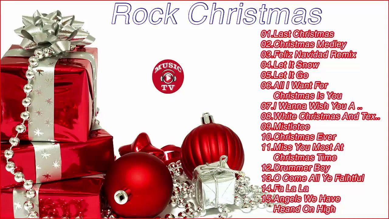 Christmas Rock || Top 20 Best Rock Christmas Songs Ever 🎅 2018 | My ...