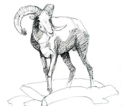 Ram Animal Drawing Hd Wallpapers On Picsfair Com Animals
